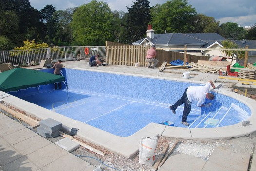 Repair swimming pool waterproof re tiling filter system - Swimming pool specialist malaysia ...